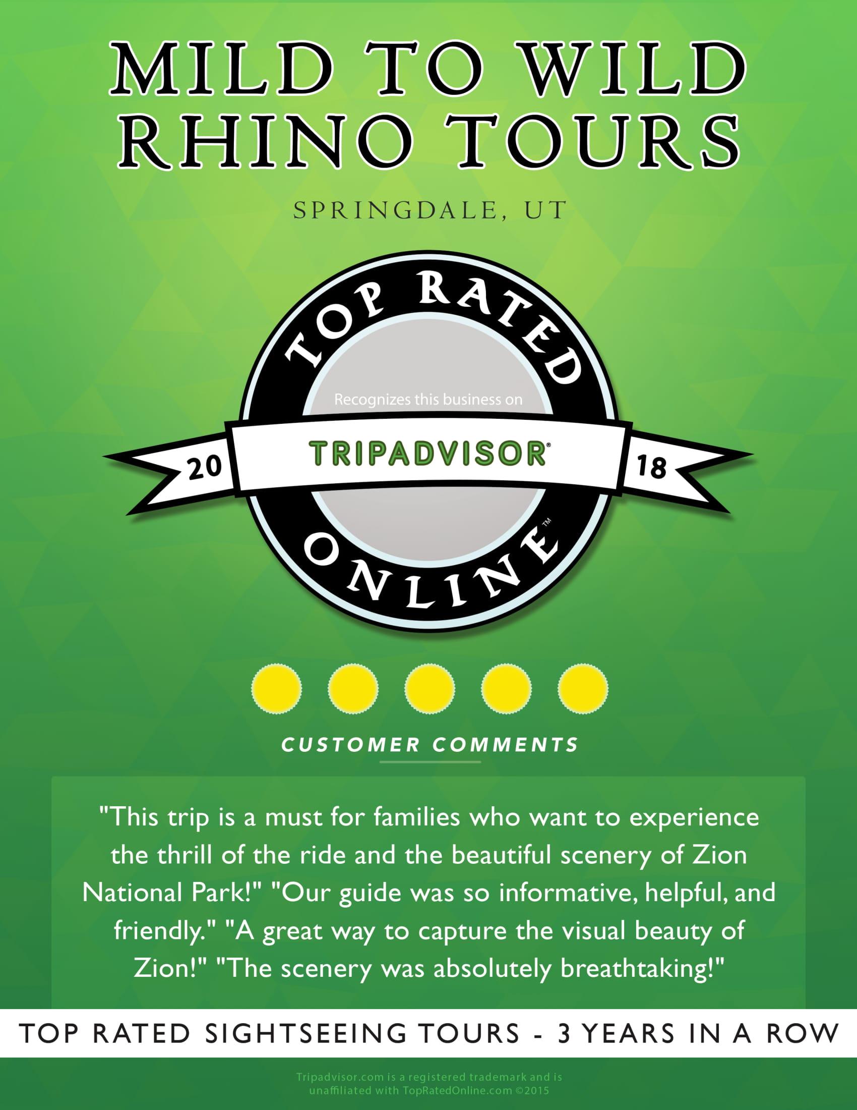 Mild to Wild Rhino Tours 18 TA 11x13-1