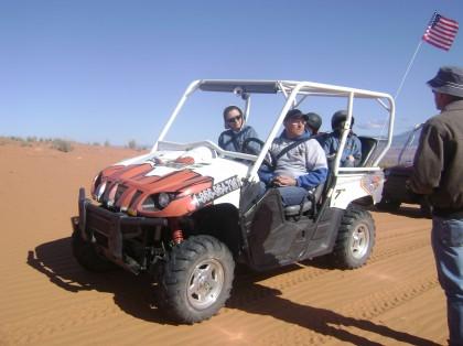 Rhino's and Sand Dunes